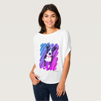 Rainbow Border Collie Shirt