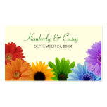 Rainbow Bouquet Placecard Pack Of Standard Business Cards