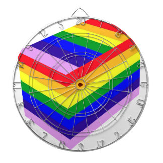 RAINBOW BOX PRIDE DARTBOARD
