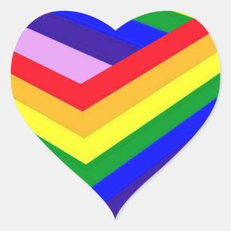 RAINBOW BOX PRIDE HEART STICKER
