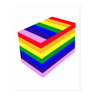 RAINBOW BOX PRIDE POSTCARD