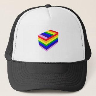 RAINBOW BOX PRIDE TRUCKER HAT