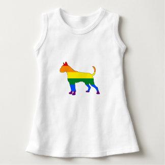 Rainbow Boxer Dress