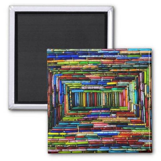 Rainbow Boxes Refrigerator Magnet