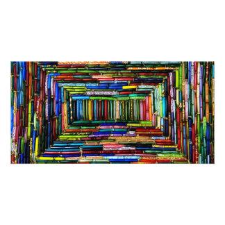 Rainbow Boxes Photo Cards