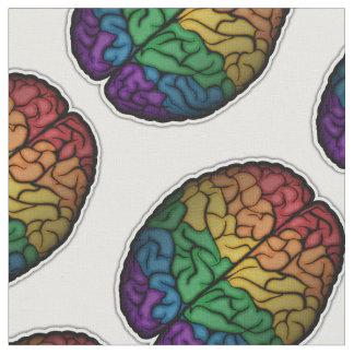 Rainbow Brain Fabric