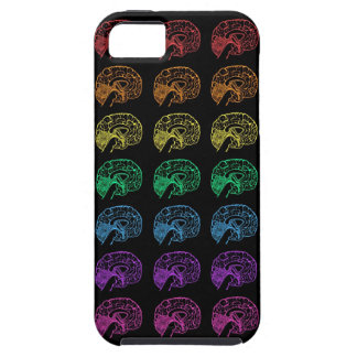 Rainbow Brains- Black Case For The iPhone 5