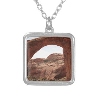 Rainbow Bridge Arch, Utah, USA Silver Plated Necklace