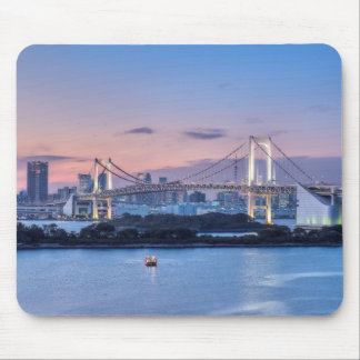 Rainbow Bridge at twilight Mouse Pad