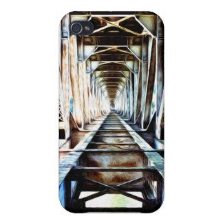 Rainbow Bridge Perspective iPhone 4 Cases
