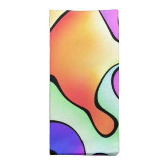 Rainbow Bright Art Printed Napkins