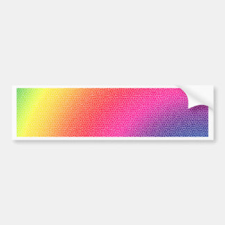 Rainbow Bright Bold Gifts Bumper Stickers