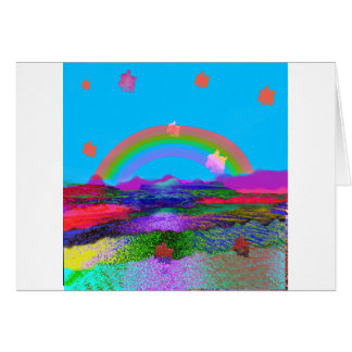 Rainbow brings diversity card