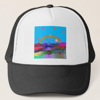 Rainbow brings diversity trucker hat