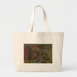 rainbow brite jumbo tote bag