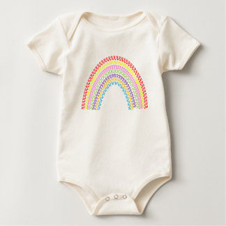 rainbow bubba baby bodysuit