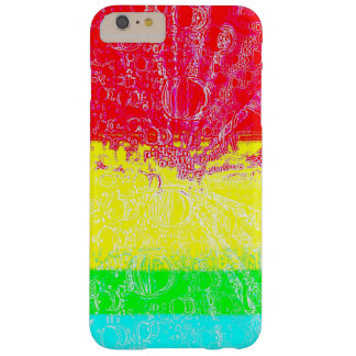 Rainbow Bubbles Barely There iPhone 6 Plus Case