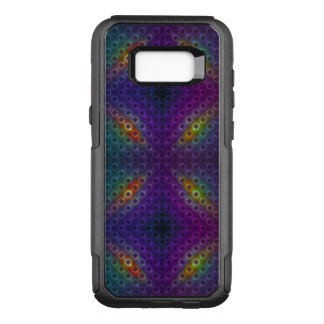Rainbow Bubblewrap Fractal Disco Lights OtterBox Commuter Samsung Galaxy S8+ Case