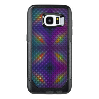 Rainbow Bubblewrap Fractal Disco Lights OtterBox Samsung Galaxy S7 Edge Case