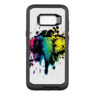 Rainbow Bull Elephant OtterBox Defender Samsung Galaxy S8+ Case
