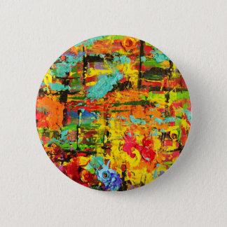 Rainbow Bullets 6 Cm Round Badge