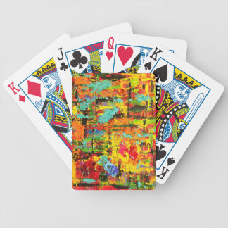 Rainbow Bullets Bicycle Playing Cards