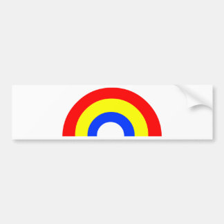 Rainbow Bumper Sticker