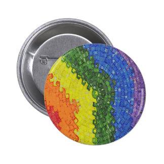 Rainbow Burst Pin