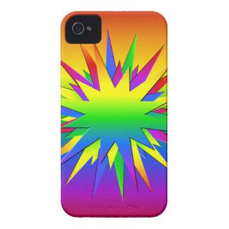 Rainbow Burst Blackberry Bold case