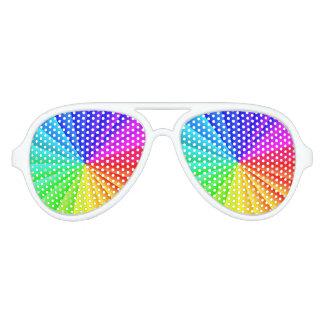 Rainbow Burst Sunglasses