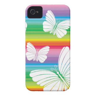 Rainbow butterflies BlackBerry Bold Case