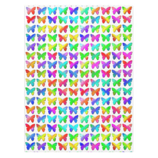 Rainbow Butterflies Tablecloth