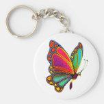 Rainbow Butterfly Keychains