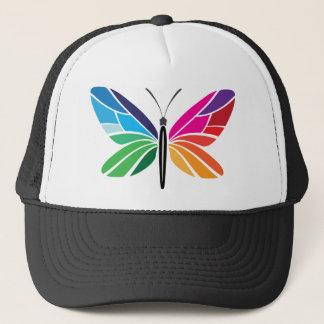 Rainbow Butterfly Trucker Hat