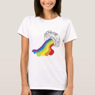 Rainbow Camera Lens T-Shirt