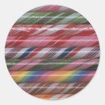 Rainbow Candy Canes Sticker