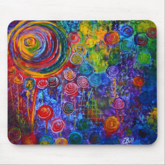 Rainbow Candy Colorful Mouse Pad