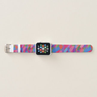 Rainbow Candy Dots Apple Watch Band