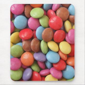 rainbow candy mouse pad