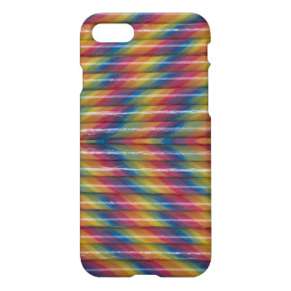Rainbow Candy Sticks iPhone case
