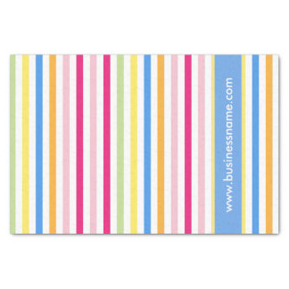 Rainbow Candy Stripes Tissue Paper