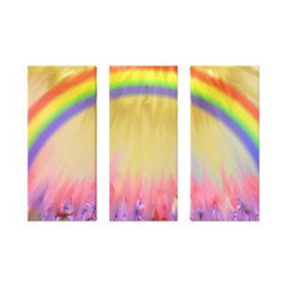 rainbow canvas prints