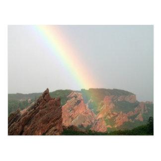 Rainbow Card Postcard