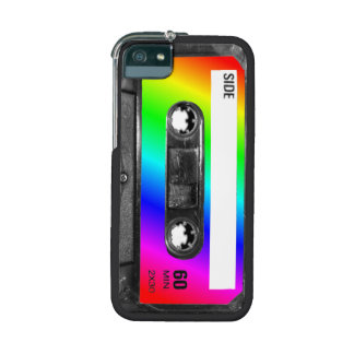 Rainbow Cassette Tape Cover For iPhone 5/5S