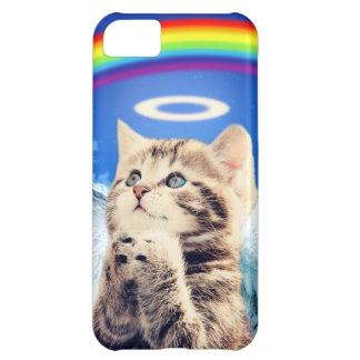 rainbow cat - cat praying - cat - cute cats iPhone 5C case