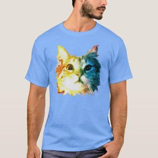 Rainbow cat head T-Shirt