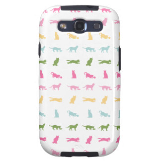 Rainbow Cat Pattern Samsung Galaxy SIII Case