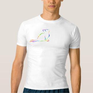Rainbow cat silhouette T-Shirt