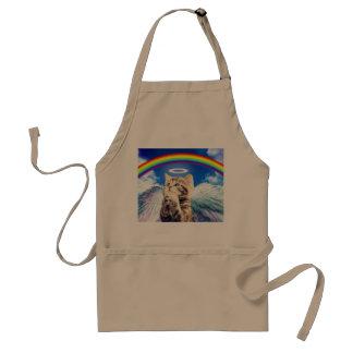 rainbow cat standard apron