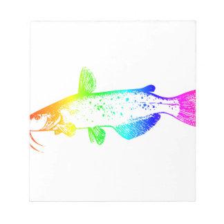 Rainbow Catfish Notepads